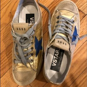 Golden Goose Sneakers (size 37) Gold